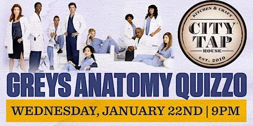 Greys Anatomy Quizzo