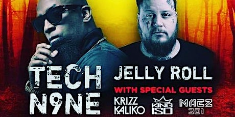 EnterFear With Tech N9ne and Jelly Roll tickets