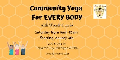 Community Yoga For EVERY BODY