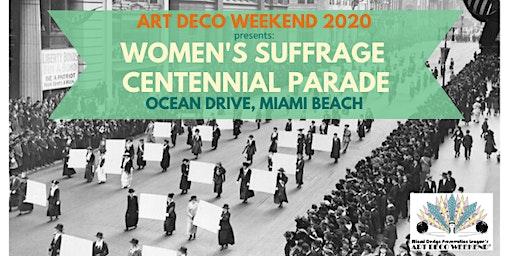 Women's Suffrage Centennial Parade