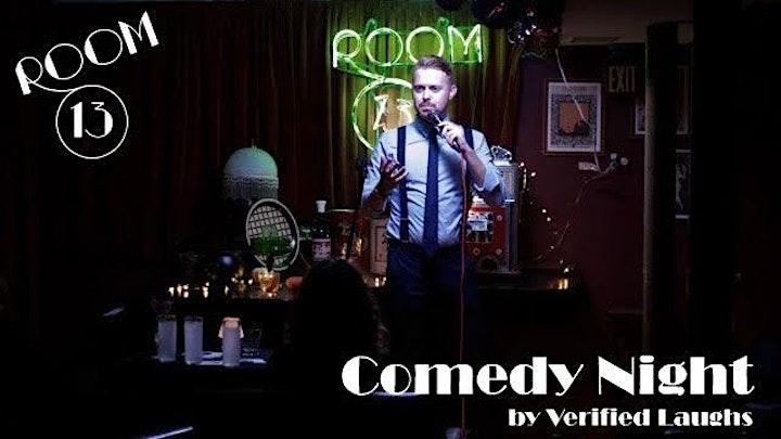 Room 13 Comedy - September Speakeasy Show! image