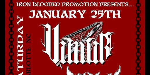 VIMUR w/ VESTERIAN, ALL HELL & PAEZOR at The Milestone on January 25th