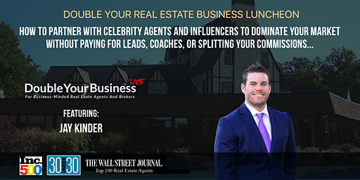 Double Your Real Estate Business Luncheon - Maryland - Jan 22nd