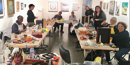 Assemblage Art Making Workshop 2020 with Dianne Hoffman