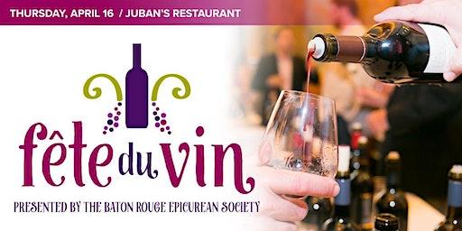 7th Annual Fête Du Vin!