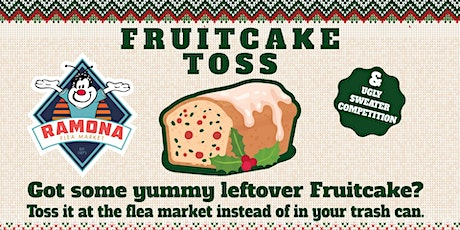 First Annual Fruitcake Toss and Ugly Sweater Competition tickets