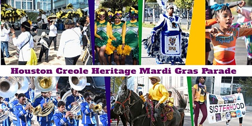 Let the good times roll! 7th Annual Houston Creole Mardi Gras Parade!