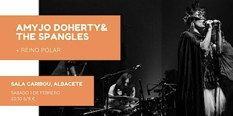 Amyjo Doherty & The Spangles + Reino Polar en Sala Caribou, Albacete entradas