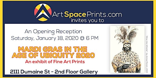 Exhibit Opening Reception: Mardi Gras in the Age of Ubiquity