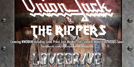Union Jack & The Rippers, LOVEDRIVE & Mean Streak - Tribute to Y & T tickets