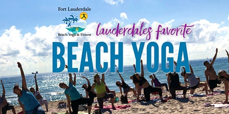 Wednesday AM Beach Yoga by Donation tickets