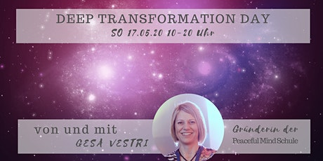 DEEP TRANSFORMATION DAY with Peaceful Mind Tickets