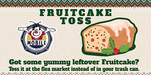 First Annual Fruitcake Toss Competition