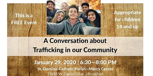 A Conversation about Trafficking in Our Community