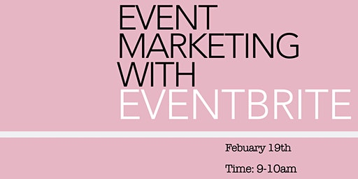 Event Marketing with Eventbrite