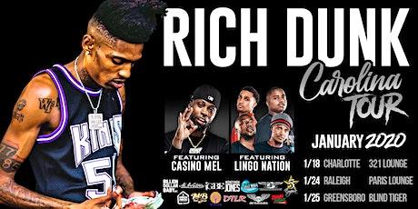Rich Dunk Official Carolina Tour Greensboro tickets