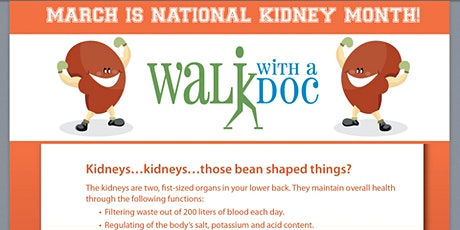 Walk With A Doc Dallas, March 21, 2020 at 10 am tickets