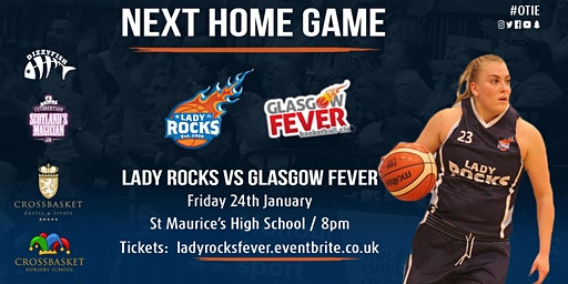 Lady Rocks vs Glasgow Fever