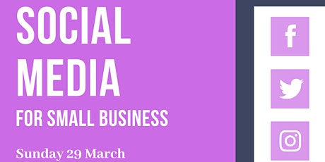 Social Media for Small Business - workshop tickets