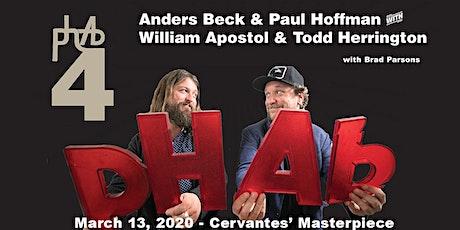 phAb4 (phoffman & Anders Beck) ft. William Apostol & Todd Herrington tickets