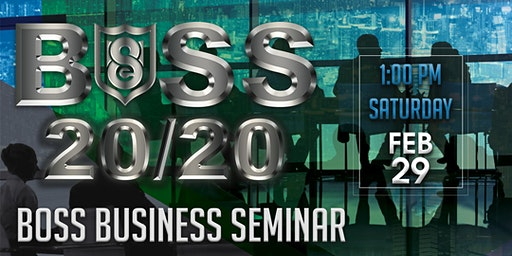 BOSS 2020 Business Seminar