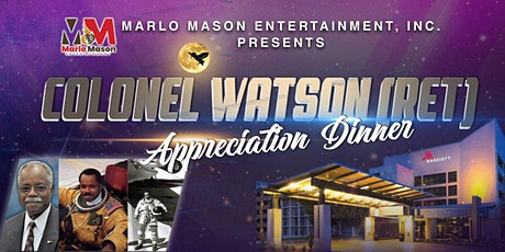 Colonel Watson (Ret) Appreciation Dinner tickets