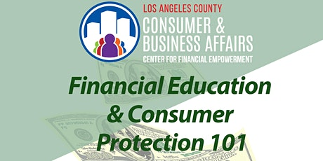 Financial Education & Consumer Protection 101 tickets