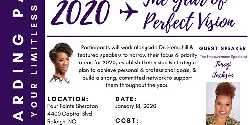 2020: The Year of Perfect Vision Presented by Dr. Mary Hemphill