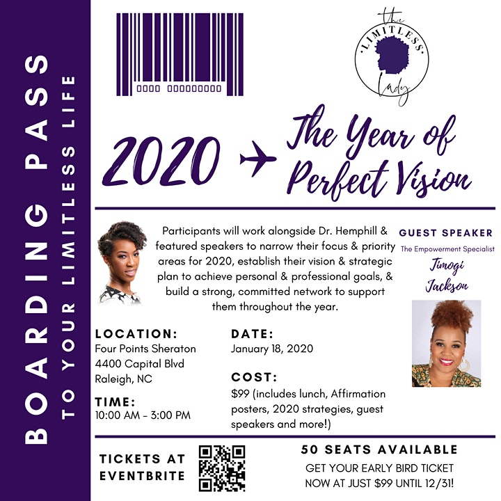 2020: The Year of Perfect Vision Presented by Dr. Mary Hemphill image
