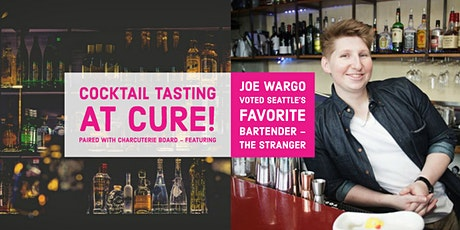 Crazy Cocktails & Eat Charcuterie w/Joe voted Seattle's Favorite Bartender! tickets