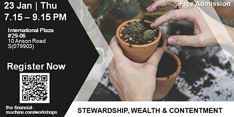 Stewardship, Wealth & Contentment -  Personal Finance & Investing Seminar tickets