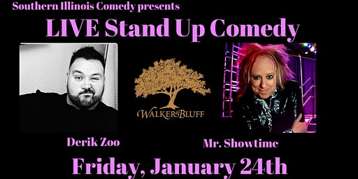 Stand Up Comedy at Walker's Bluff - Derik Zoo & Mr. Showtime