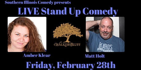 Stand Up Comedy at Walker's Bluff - Matt Holt and Amber tickets