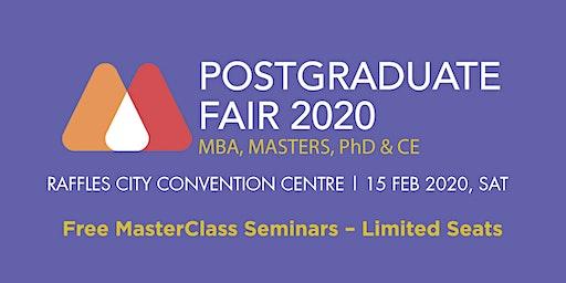 Postgraduate Masterclass Fair 2020