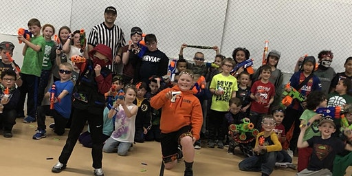 January Kids Nerf War Ages 6-12