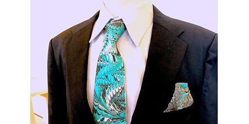 Learn to Marble a Silk Tie (05-24-2020 starts at 12:00 PM)