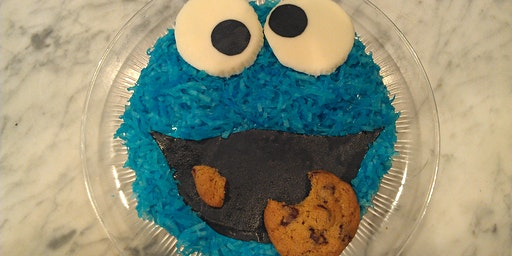 Junior Baker - How to decorate a Cookie Monster Sm