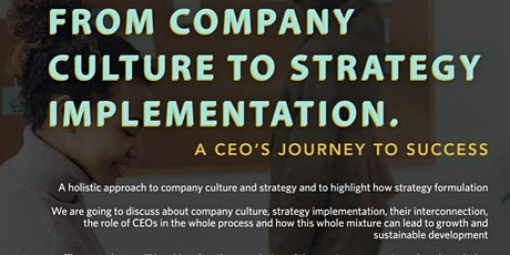 Webinar  Culture Strategy Implementation tickets