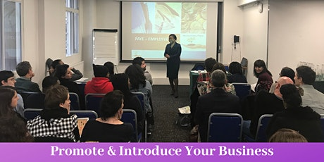 Introduce & Promote your Business tickets