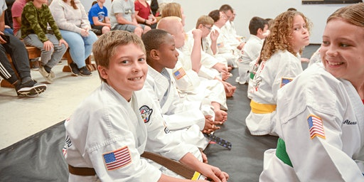 FREE Kids Martial Arts Class For Kids Ages 6-1yrs old