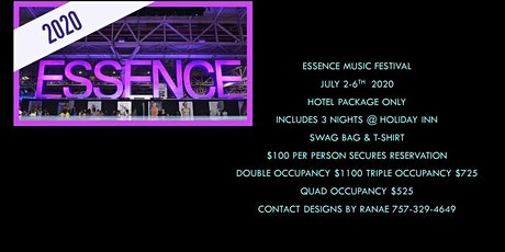 Essence Music Fest 2020 Hotel ONLY Package tickets