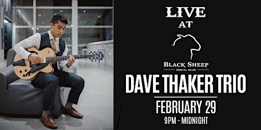 Live Music - Dave Thaker Trio