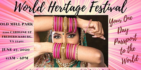 World Heritage Festival ~ Fredericksburg, VA tickets