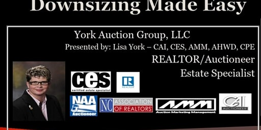 Downsizing Made Easy & Real Estate Market Seminar