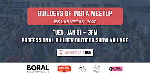 Builders of Insta Meetup - IBS 2020