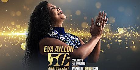 """Eva Ayllon """"5 Decadas de Musica Criolla"""" boletos"""