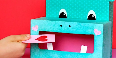 Valentine Party Card Box tickets