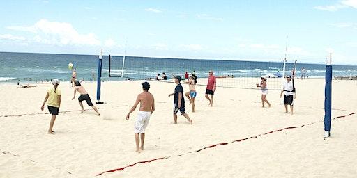 Au Pair Beach Volleyball