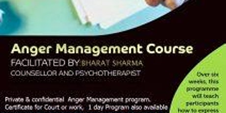 Edmonton  Anger Management Program tickets
