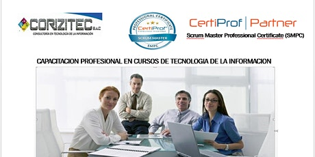 Taller Gratuito  - Scrum Master Professional Certificate (SMPC) - Online entradas